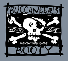 Buccaneers Booty Minature Golf